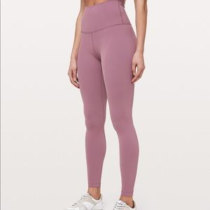 Lululemon wunder under super high rise leggings